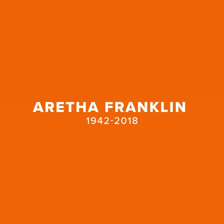 Aretha Franklin was twice voted as the number one Greatest Singer of All Time by @RollingStone magazine! Listen to why she was #1 on @Deezer: rhino.lnk.to/ArethaNowDzr