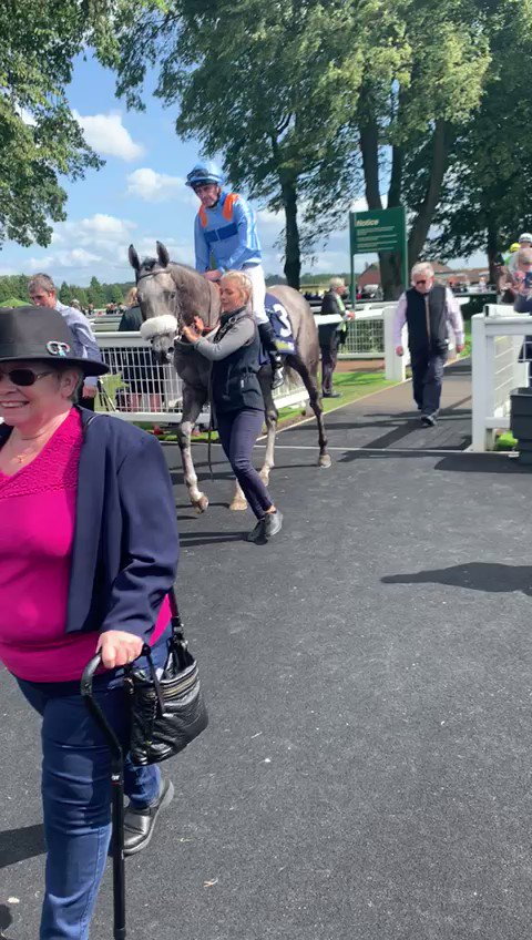 Thanks to VENTURA LIGHTNING, @RichardFahey and @Tonyhamilton83 winning the @RiponRaces Hornblower Conditions Stakes, we have now had 60 winners this year. Well done everyone & many congratulations to his owners. His Gr 1 Middle Park Stakes entry looks even more exciting now!