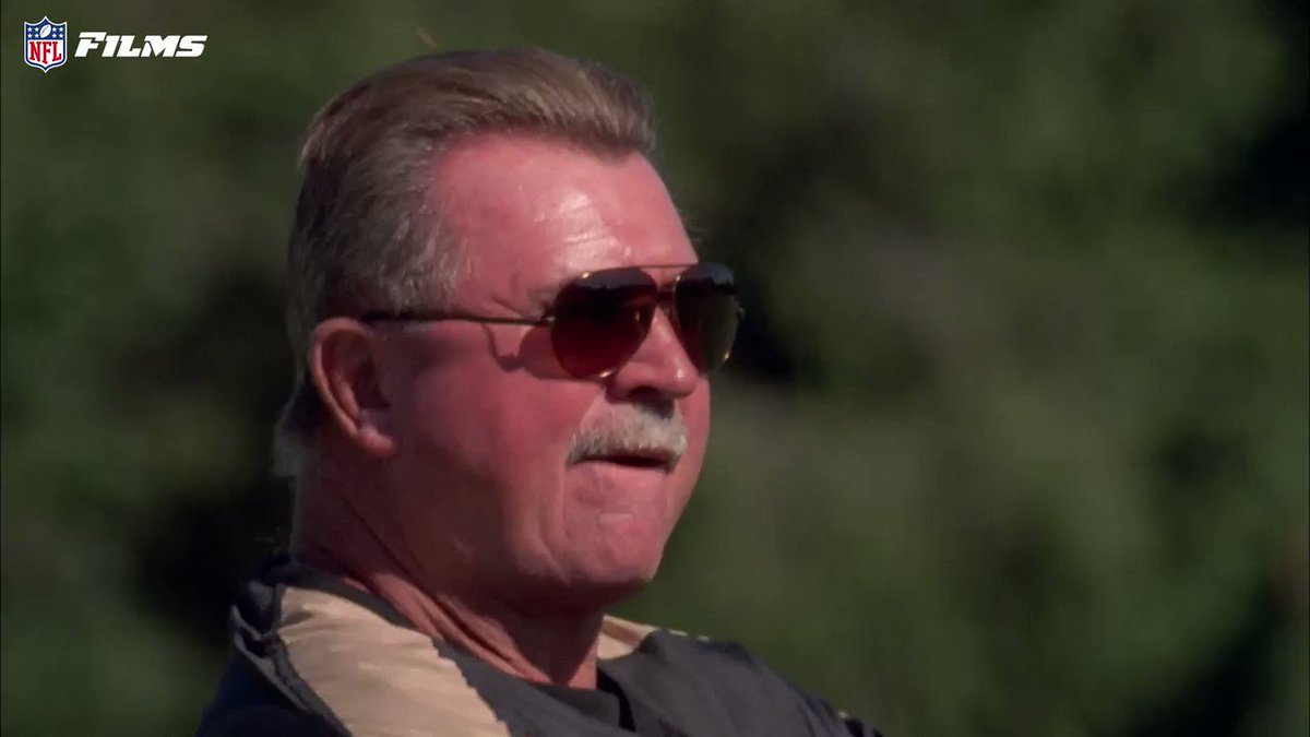 Happy #NationalHoneyBeeDay 🐝 Please enjoy 34 seconds of Mike Ditka fending off bees at @saints camp.