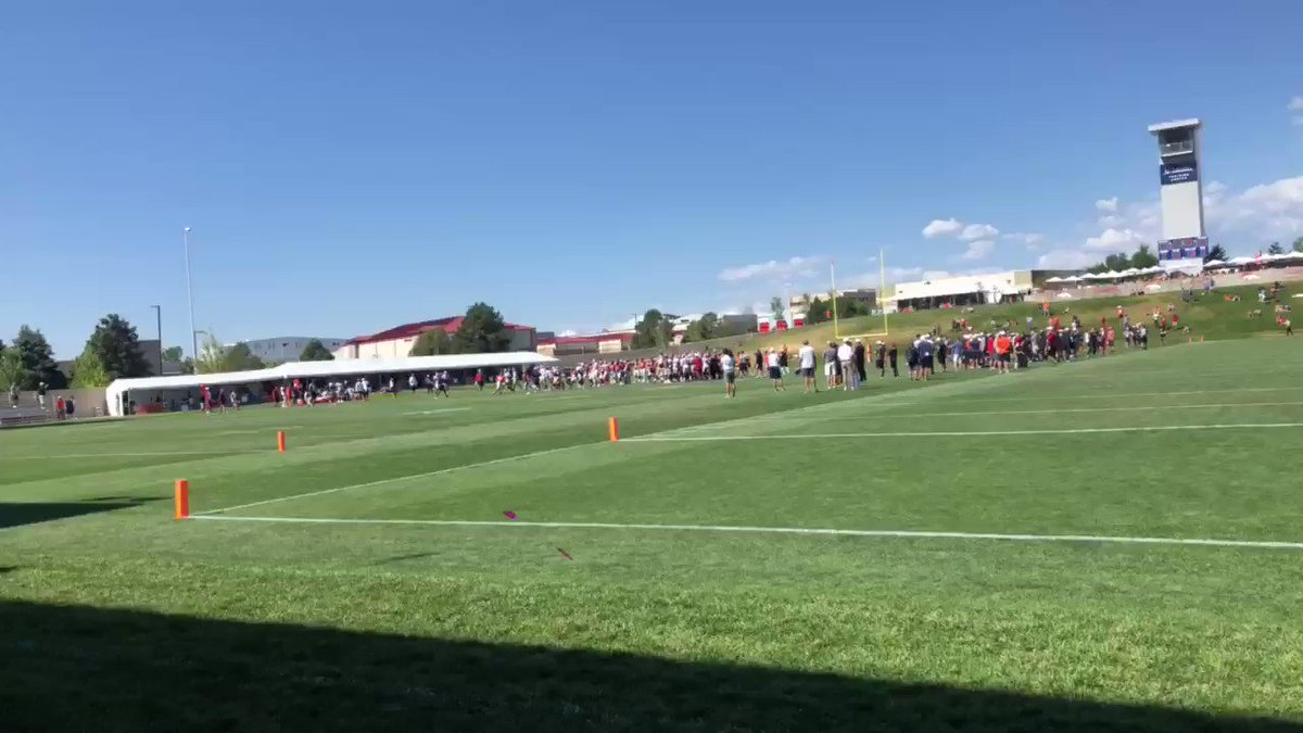 Video: Fight Breaks Out During Broncos-49ers Joint Practice