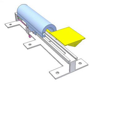 Slider Carrying Automatic Flipping Plate