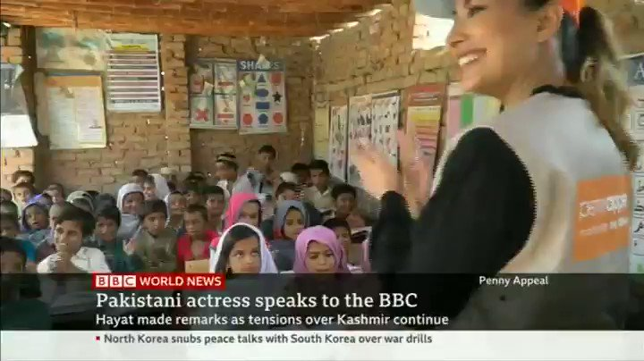 So one of the reasons I am in the UK is to announce that I am joining global charity Penny Appeal as an Ambassador. I will be raising funds to re build 5 schools in sukkur , Sindh . Please Join me in this quest. Here I am talking abt it on @BBCWorld with @BBCNuala .. Part 2/2