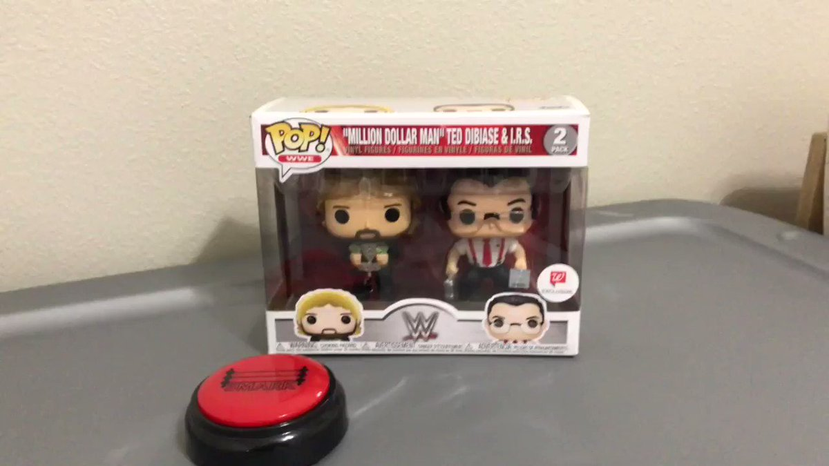 I don't normally collect Funko, but I couldn't pass up this $4.21 deal on Million Dollar Man and IRS!Smark Button says:THIS IS AWESOME 👏🏻👏🏻👏🏻👏🏻👏🏻http://smarkbutton.com15% off use code RAW15#wwe #nxt #aew #nxtuk #figlife #scratchthatfigureitch @ChickFoleyShow @MajorWFPod