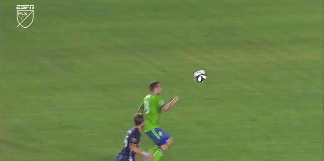 Hilarious own goal. 2-2