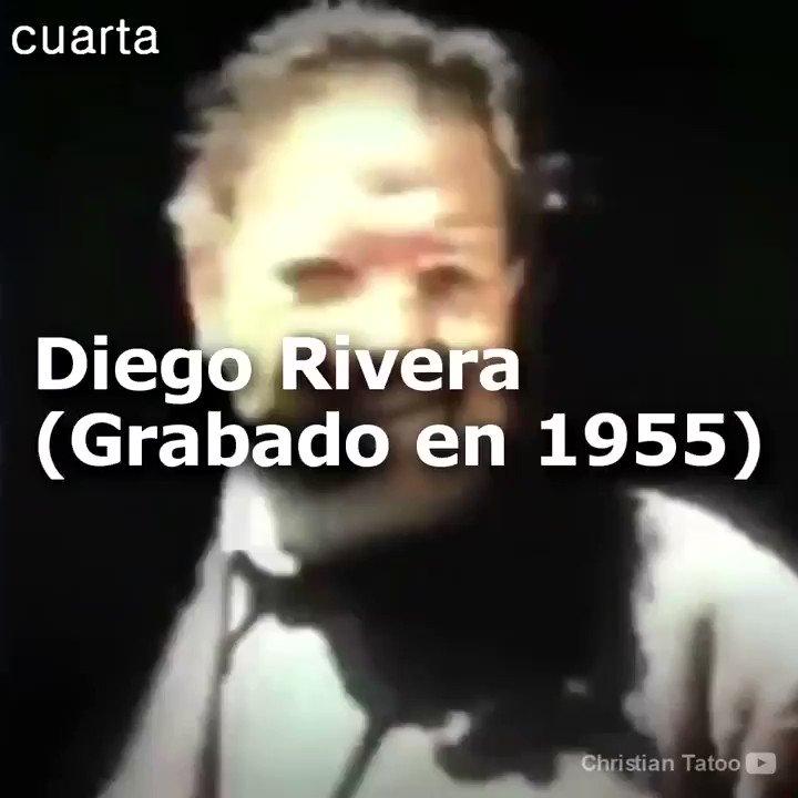 En alguna ocasión has escuchado la voz del famoso muralista Diego Rivera? O viviste para ver las intervenciones de Vasconcelos en los programas de debate televisivos? Te comparto un video donde puedes conocer la voz de ambos. Via Cuarta @warkentin @TurismoCDMX @arnemx