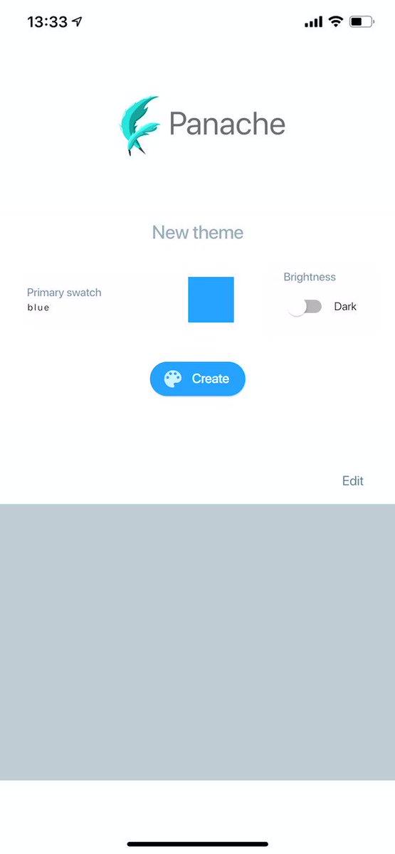 Flutterのtheme理解が捗るアプリを見つけた( ´・‿・`)起動まで色々手順必要だったのでforkしてすぐ実行できるようにしたけど、壊れてるところとかまだ直せてない( ´・‿・`)
