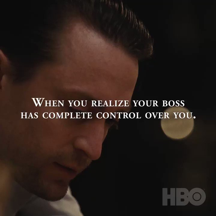 Quick cure for Sunday scaries: watch Succession and realize your boss isn't THAT bad.