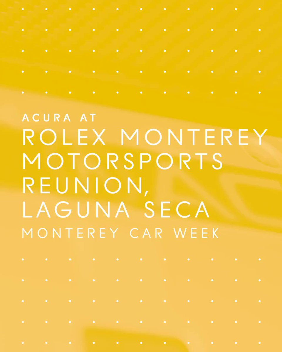 Generations of performance are on display at the Monterey Motorsports Reunion as father and son duo Wayne and Ricky Taylor, along with Parker Johnstone and Dan Marvin, pilot classic Acura race cars for a history making lap at Monterey Motorsports Reunion. #MontereyCarWeek