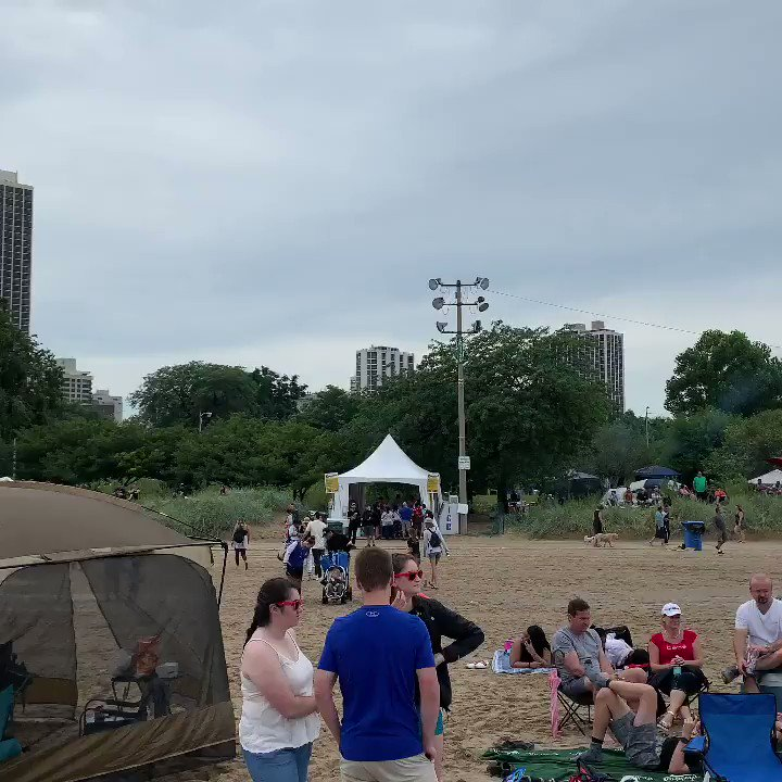 What a venue for an airshow! #chicagoairandwatershow