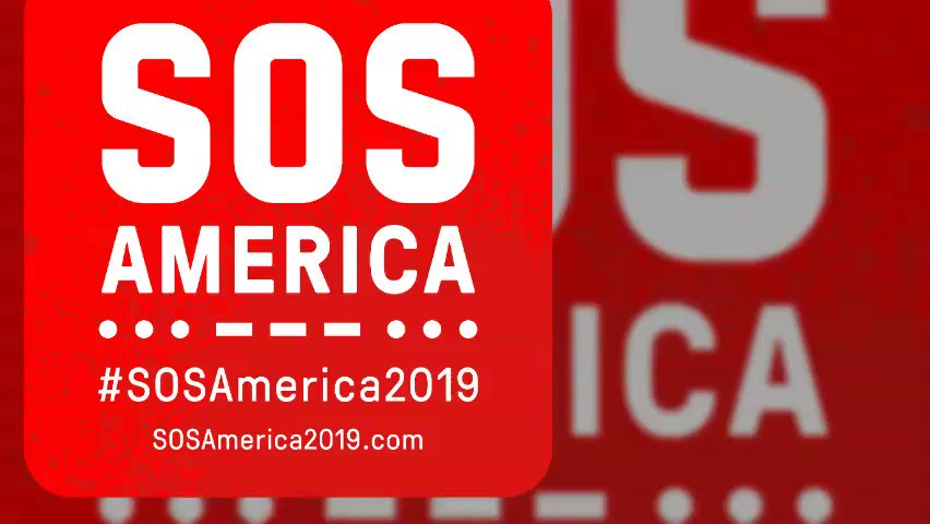 The brave people of Hong Kong are absolutely inspiring. We can make this happen in and for America. Lets do this! Join #SOSAmerica2019 on 8/21. 🆘
