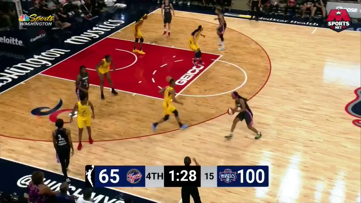 And with this 3, we set a @WNBA record with 18 3s in a single game‼️