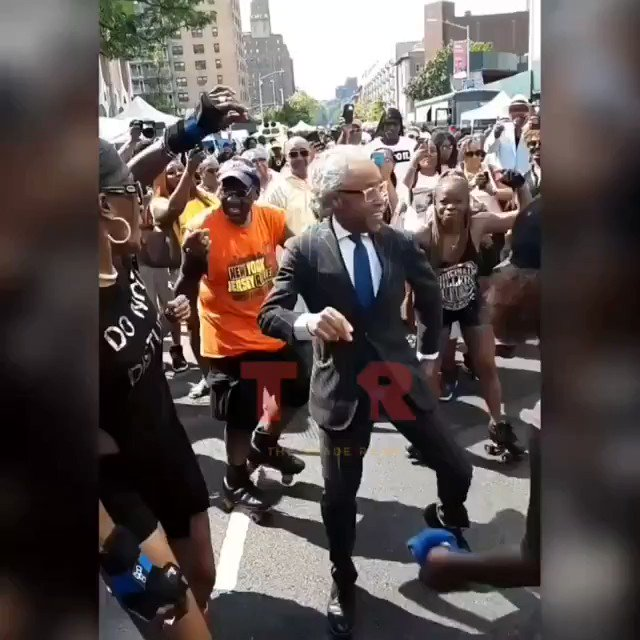 Why does Al Sharpton look like a lil boy in an Al Sharpton costume. Somebody come get him!