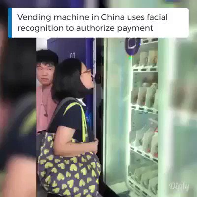 Image for the Tweet beginning: #China leveraging #FacialRecognition to authorize
