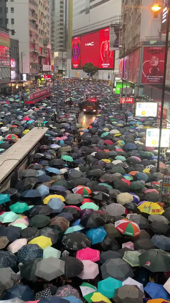 I love Hong Kong. We deserve democracy and freedom. How can Beijing blame us as Rioters?