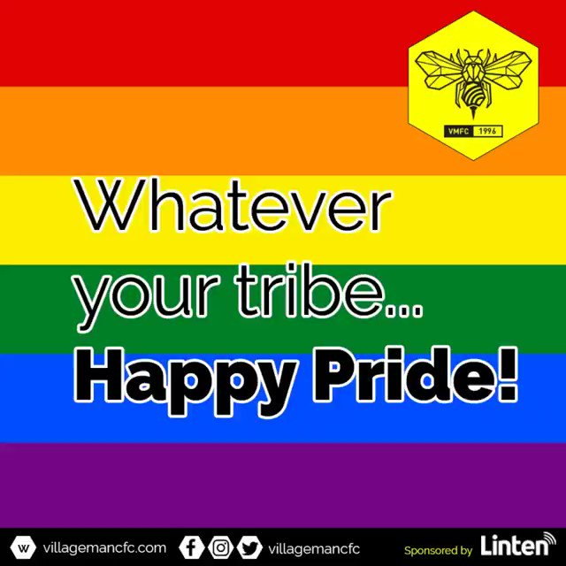 Its @ManchesterPride week! 🏳️🌈Wednesday: free footie training for newbies, 8.30pm, Trinity Sports Centre. 🏳️🌈Thursday 7pm @ViaCanalStreet Pride Olympics - fun & games on @canalstmancs 🏳️🌈Saturday 11am Pride Parade. All welcome... thats the point! 😍Sponsored by @lintentech
