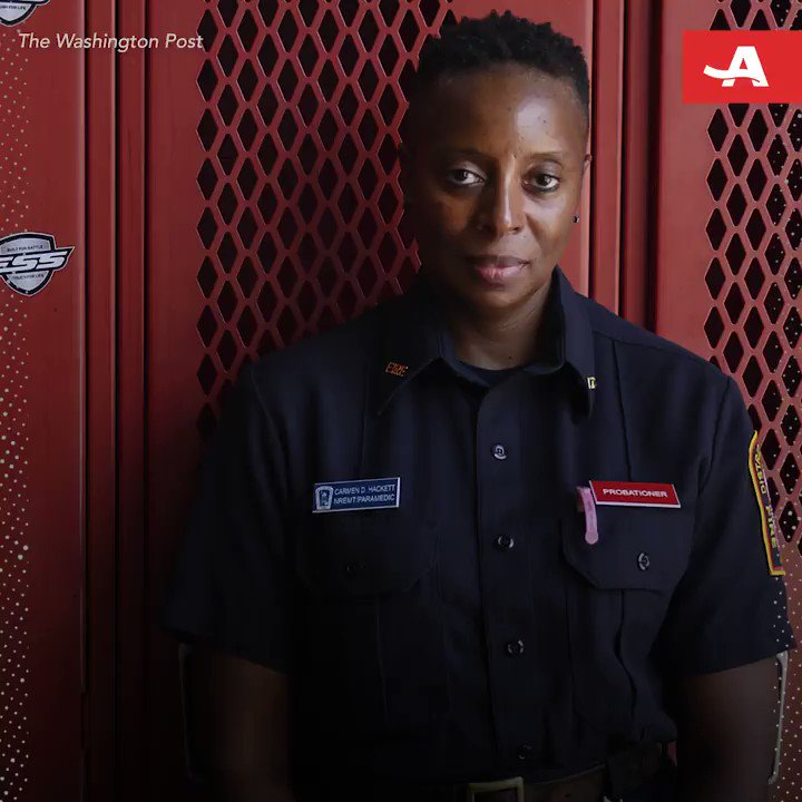 At 53, Carmen Hackett is fighting fires and inspiring those around her. 🔥 #DisruptAging