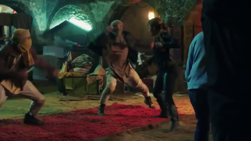 "Halle Berry fight scene from ""John Wick 3"""
