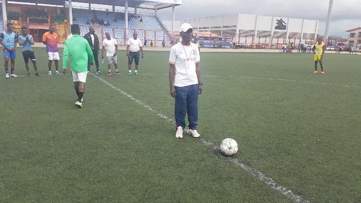 WATCH: E still dey body! Our longest serving staff by far, Wahab Abdul who celebrated his birthday yesterday was honour with the chance to take a ceremonial kickoff for a training match in the morning & the septuagenarian didnt disappoint at all. Keep aging well Egbon!❤