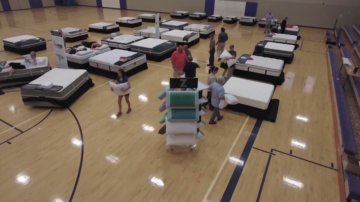 The Mattress Fundraiser is coming to Dunkirk H.S. This Sunday, Aug 25. 10am-4pm @ the High School. Replace that old, worn out bed for as little as $25.00 per month with NO Money Down and help support @DunkirkFootball