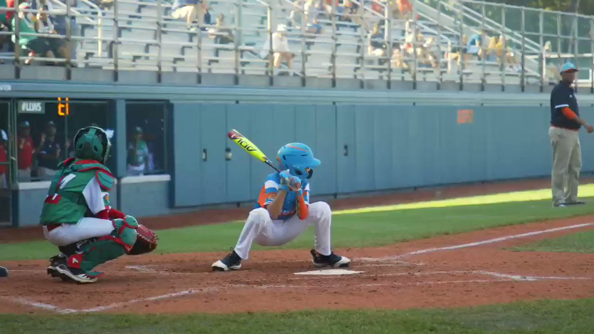 Video: The Viral Batting Stance At The LLWS Is Back
