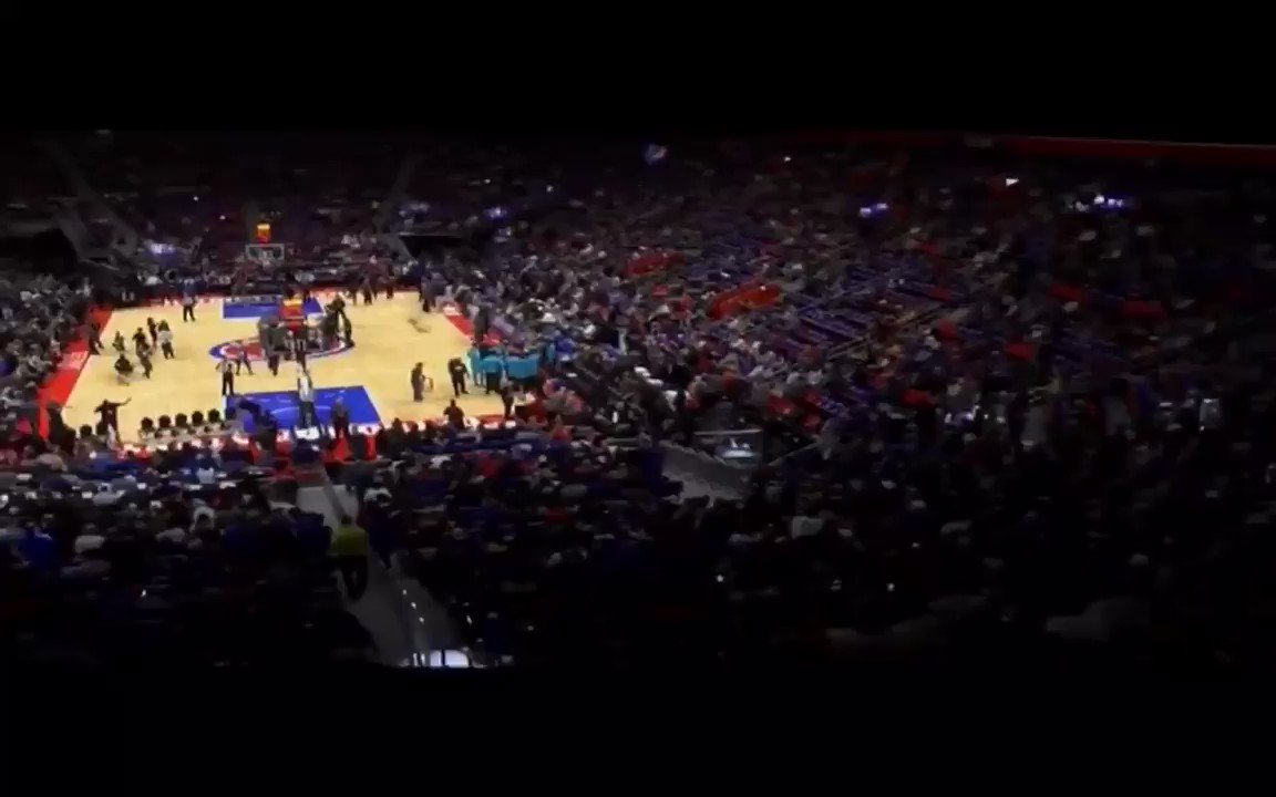The year is 2017. Pistons made a huge splash and got Avery Bradley to go with Reggie Jackson, Stanley Johnson, Tobias Harris and Andre Drummond.   Brand new arena back in Detroit. @Eminem has fans ready to run through a brick wall.   We finish 39-43 and miss the playoffs. https://t.co/O4g6Ubc6SC