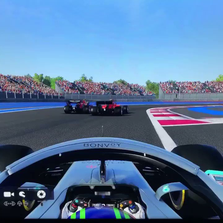 Went for a bit of a spin cuz I tap the brakes #F12019 #Formula1 #ESPN #SkySports #skyf1