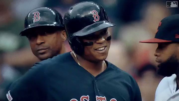 What a week for Young Rafael Devers!