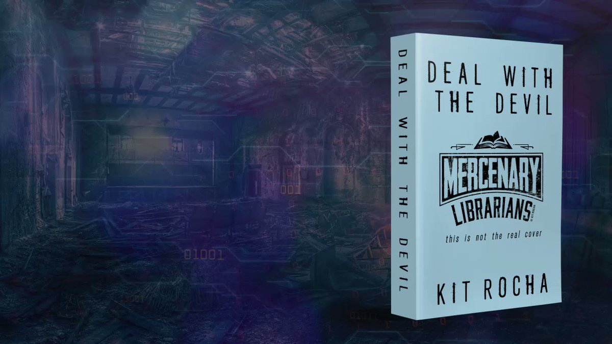 🔹 Three Apocalyptic Archivists 🔹 Four Dystopian Supersoldiers 🔹 One Top Secret Treasure Map 🔹 Infinite Chances For Betrayal Mercenary Librarians preorder links are finally live on our site! kitrocha.com/book/deal-with… #MercenaryLibrarians May 2020 📚⚔️💕 (cover coming soon!)