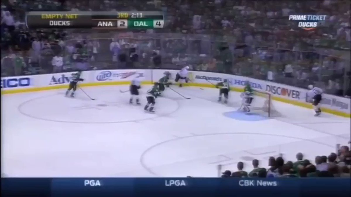 #TBT: April of 2014, when the #NHLDucks came surging back late in the 3rd against the Dallas Stars to win Game 6 and the series. #LetsGoDucks https://t.co/NYc5oWkYOg