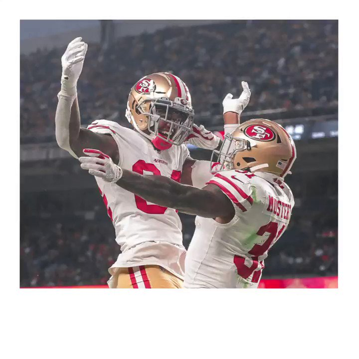 Thats a W! Heading home with the Monday Night Football win. #GoNiners