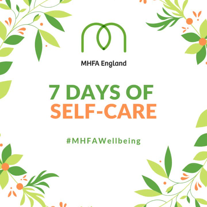 Day 2 of our 7 days of self-care. Today were asking you to turn inwards and ask yourself how you are feeling today. What can you do to better look after you? Take a look at some of our free resources for ways to #AddressYourStress. mhfaengland.org/mhfa-centre/re… #MHFAWellbeing
