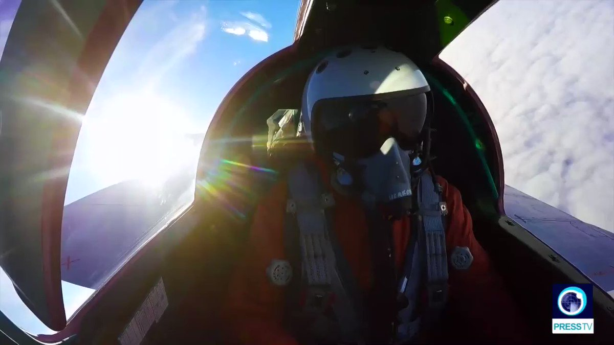 A cockpit video has provided a breathtaking view of #Earth's curvature as a Russian #MiG31BM traveled through the lower stratosphere for the first time during a military exercise.