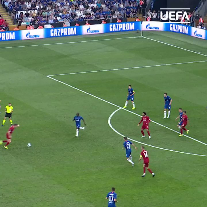 💙 N'Golo Kanté = el pulmón del Chelsea 🔥  #SuperCup   ChelseaFC_Sp   nglkante