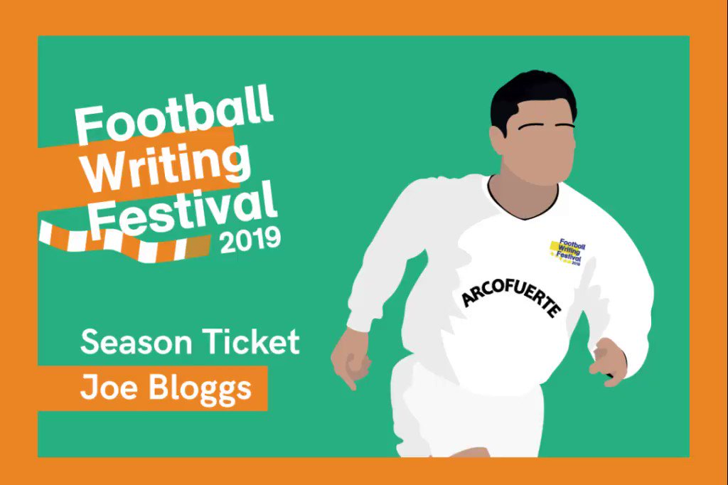 Six talks with football writings biggest names, working out at just £7.50 per event. Plus @FootballMuseum admission for the week, podcasts, reserved seats & a 25% Football Weekly discount. Plenty of bang for your buck! Get your Season Ticket here: bit.ly/fwf2019-season