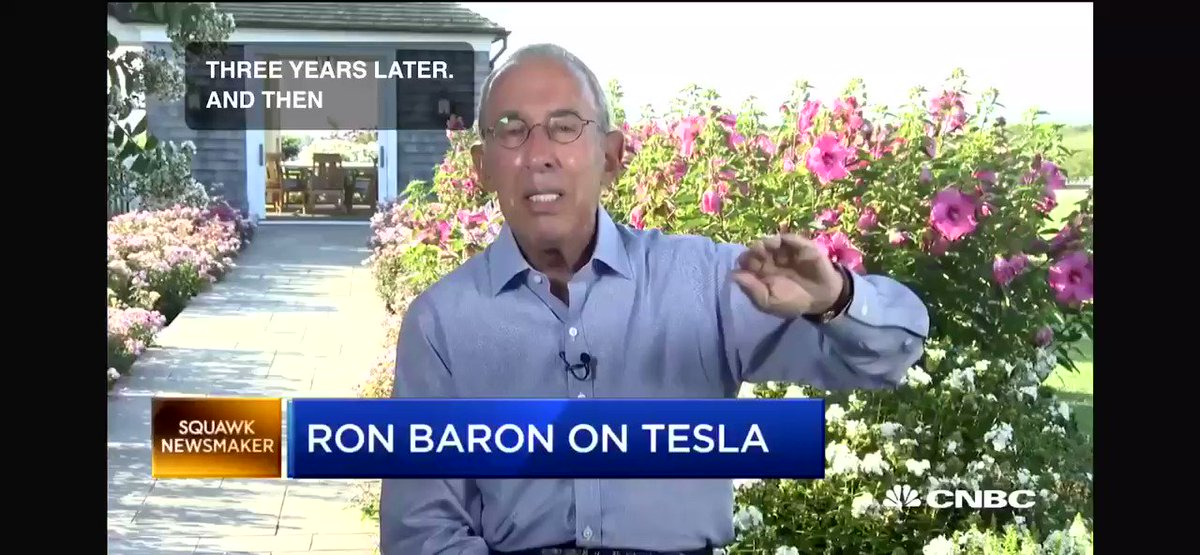 RT @vincent13031925: Ron Barron Says Has Not Sold Any Tesla Stock, Says Opportunity Has Not Shrunk  $TSLA #Tesla https://t.co/gR07AtNuEc