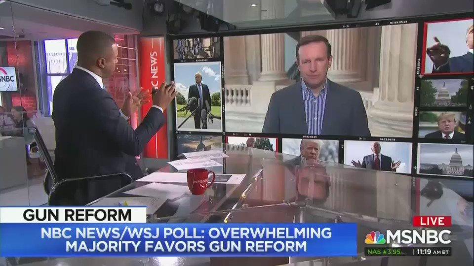 Sen. Chris Murphy destroys the myth of the all-powerful NRA.