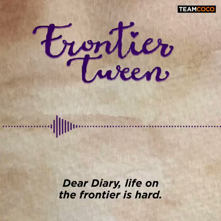 "Listen to the trailer for ""Frontier Tween,"" our new scripted podcast series featuring the voices of @conanobrien, @mariabamfoo, @kerrikenney, and more. Coming soon to @hearluminary. http://luminary.link/variety"