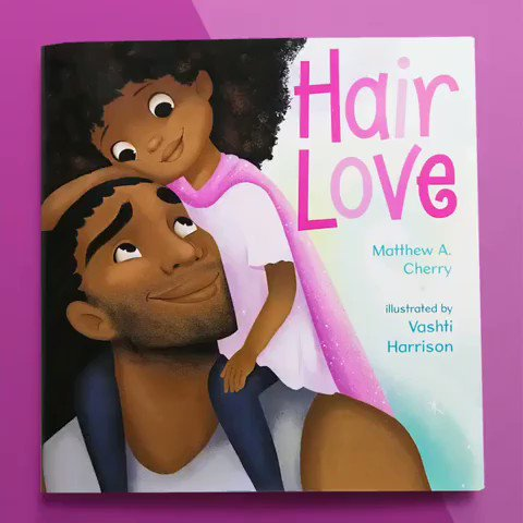 If you enjoyed our #HairLove short film we also have an accompanying children's picture book that is available everywhere books are sold via @KokilaBooks @penguinkids