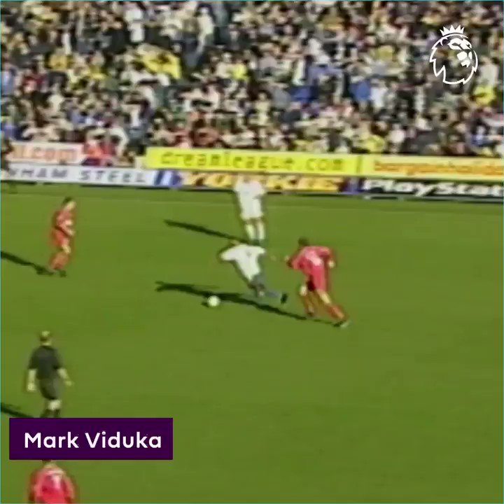 A delightful chip 👌#GoalOfTheDay is a touch of class from Mark Viduka#PL