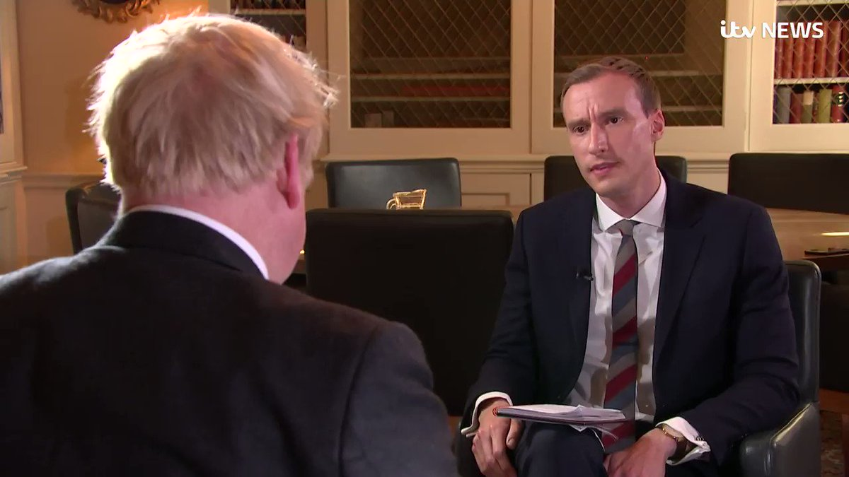 WATCH: The Prime Minister cannot give me one new idea he's come up with for solving the issue of the Northern Irish border...   ... but he tells me Theresa May didn't argue strongly enough for other alternatives to the backstop, which have been previously suggested.