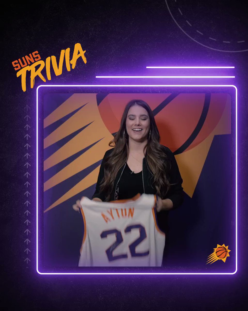 ❓ TRIVIA TUESDAY ❓  On 10.18.68, the Suns played their first game in franchise history securing the win over what team?  RT and respond for your chance to win an autographed @DeandreAyton jersey!