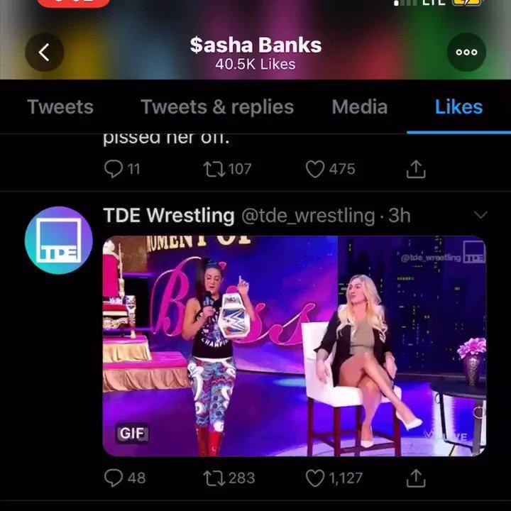 RT @BayleyPamBayley: Even Sasha Banks knows, that's good sh!t #SDLIVE https://t.co/awqCXwf5lI