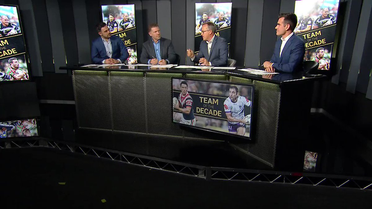 Did SBW deserve to make the NRL Team of the Decade? @MichaelChammas, @Danny_Weidler and @brentread_7 have their say🎥 - https://t.co/uzYN02nhz7 #NRL