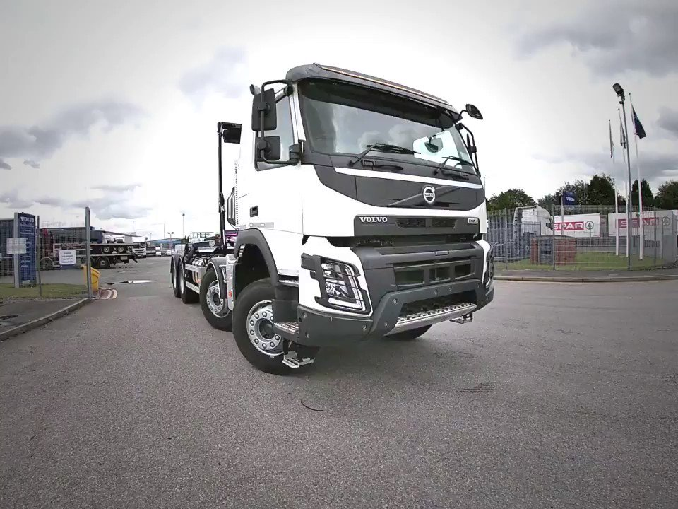 In Stock, ready to roll.....Volvo FMX 8 x 4 Hookloader Wheelbase 5100 mmEuro 6 Engine, (410bhp)Volvo Engine BrakeDrive Package Cab LevelBridgestone Tyres 295/80R22.5I-Shift GearboxGearbox PTO - (PTR - DH)Cab Rear WindowCall 08000 359489 for further information.