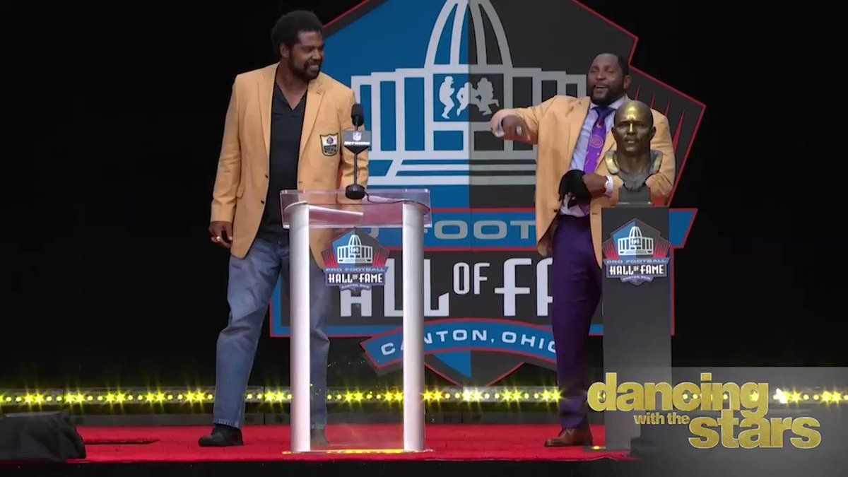 Do you think @ravens @raylewis will break out this classic on @DancingABC? He becomes the 9th Hall of Famers to participate on the show. #PFHOF19 #DancingWithTheStars