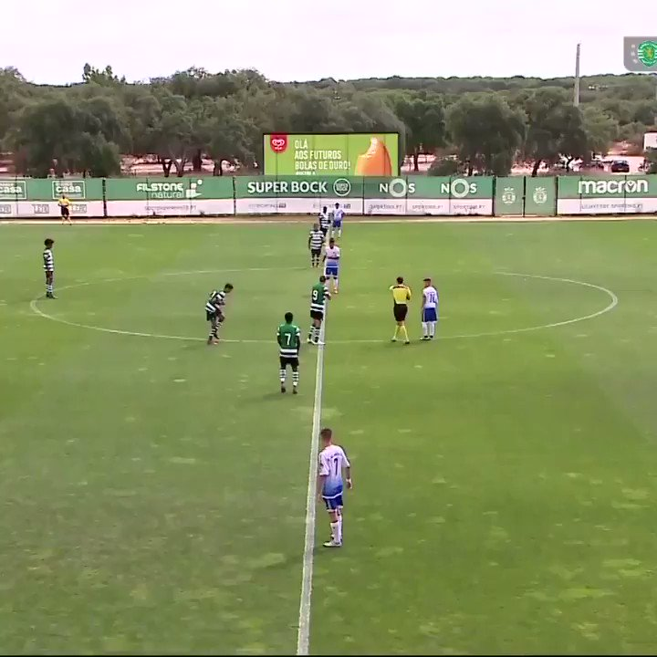 Watch a Portuguese soccer team score a goal 13 seconds into match ... without touching ball