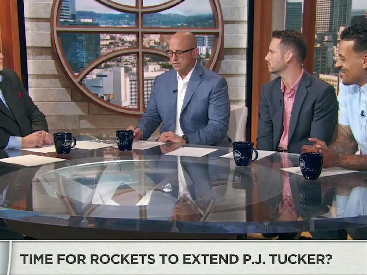 What should the Houston Rockets do with PJ Tucker? Maybe follow the script that the LA Clippers did with Lou Williams.