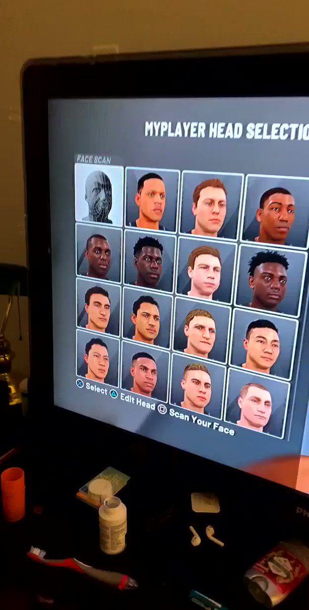 2k face scans are something else😂 Via @MF_Different