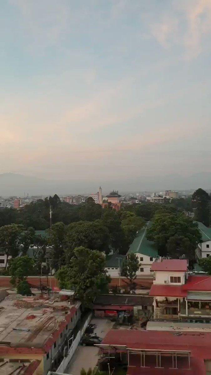 5.37AM. Good Morning #Kathmandu #Nepal