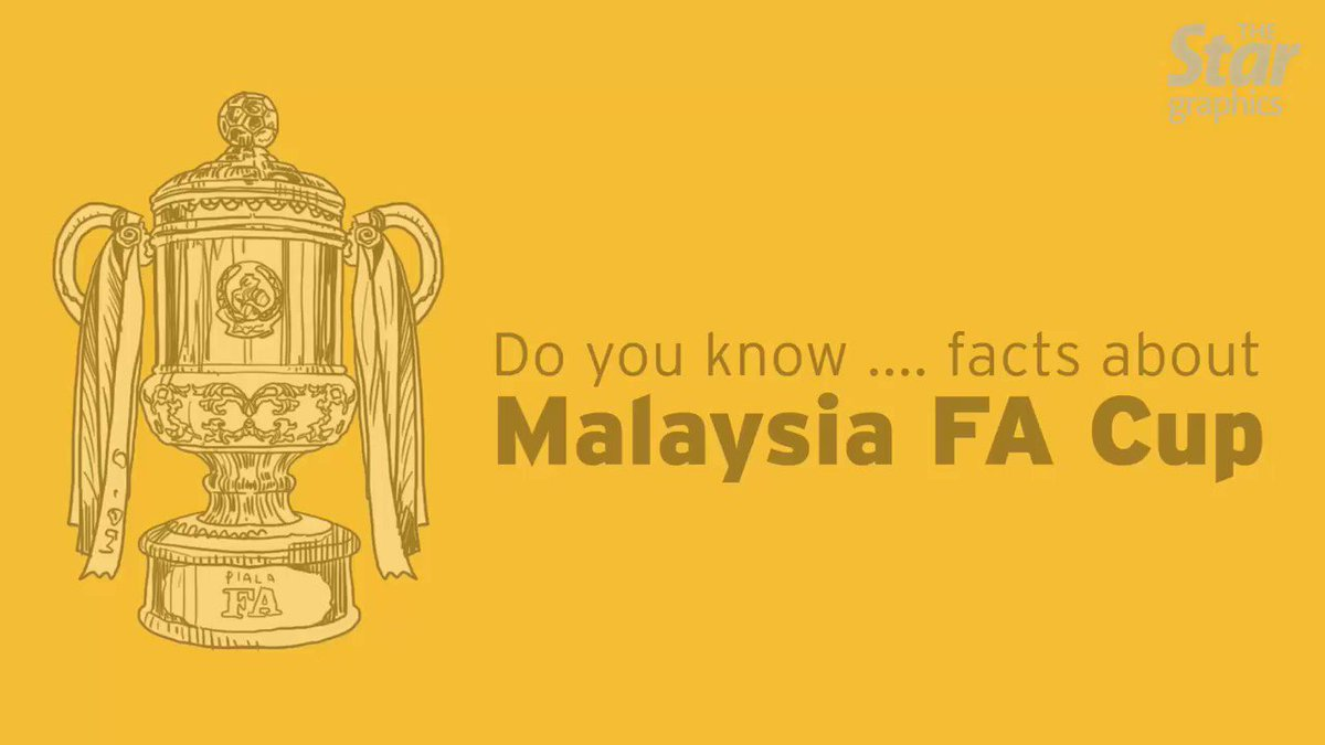 RT @staronline: Kedah and Selangor are the most successful clubs in the FA Cup.  #football #facup #malaysia https://t.co/tlqv6bEwLk